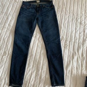 Hudson Skinny Jeans Dark Wash Size 28